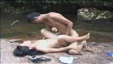Skandal Pasangan Kalimantan Main Di Sungai