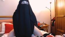 Abg Hijab Arab Main Dildo